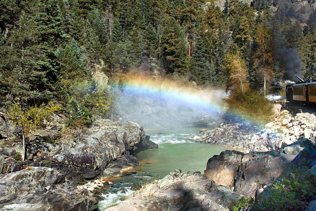 Animas River Rainbow