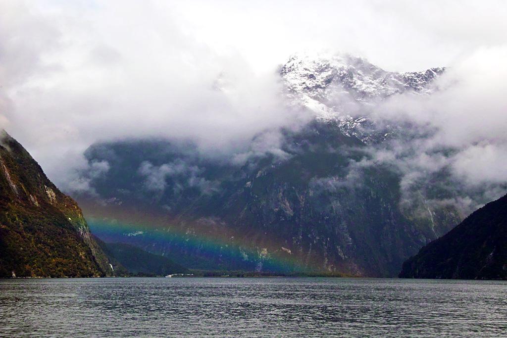 Milford Sound Rainbow