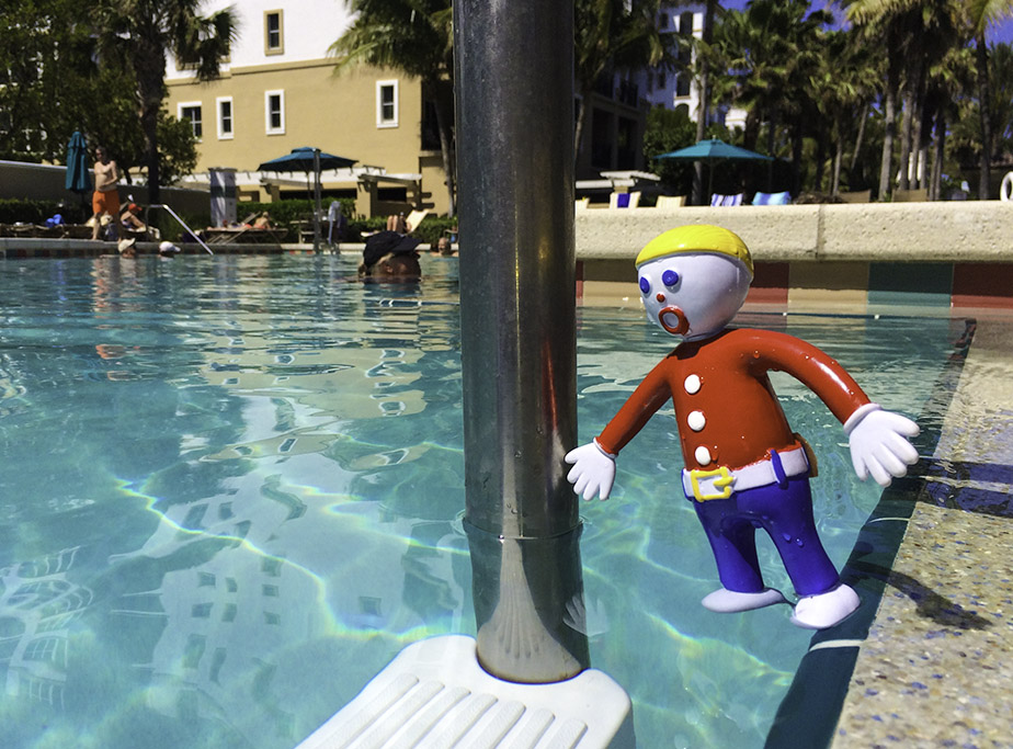 Mr Bill Takes a Plunge