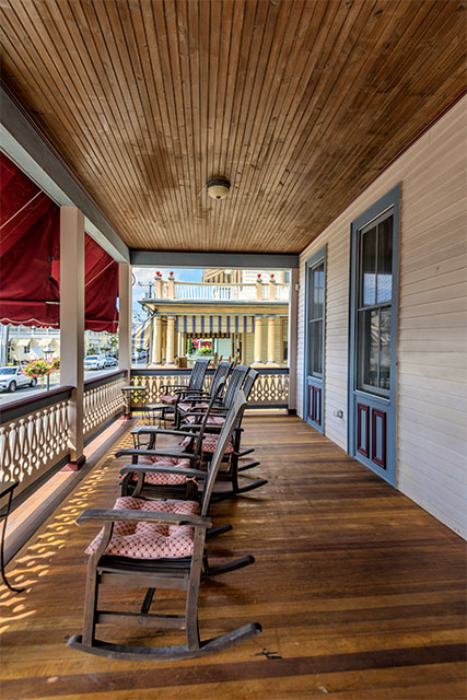 A Victorian Porch