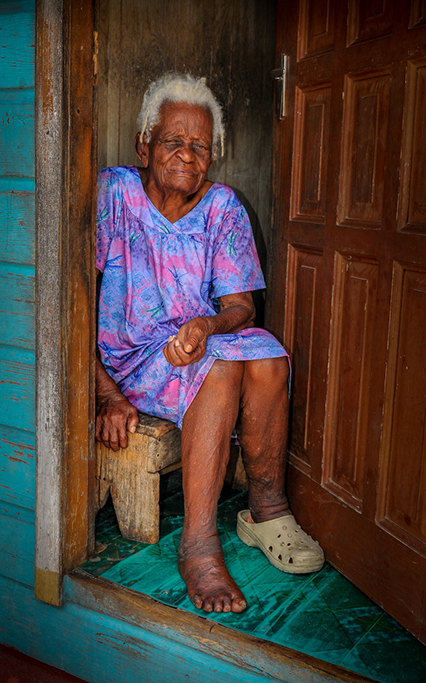 Old Woman St Lucia