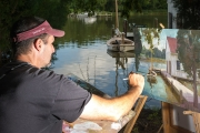 Paint, Water, and Boats