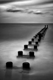 Run Off  Piling_BW_Windsor Beach